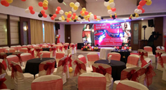 birthday celebration at sneh banquet hall